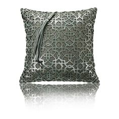 CUSHION LINE Viyan Platinum Grey 40×40