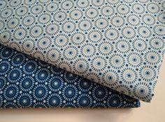 Tilda Blue Cotton Fabric