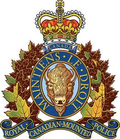 Royal Canadian Police coat of arms Canadian Things, I Am Canadian, Canadian History, National Police, Canada 150, New Brunswick, Crests, Canada Travel, Coat Of Arms