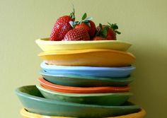 Ποιο χρώμα πιάτου είναι ιδανικό για όσους κάνουν δίαιτα; Tableware, Kitchen, Baking Center, Dinnerware, Cooking, Dishes, Kitchens, Place Settings, Cuisine