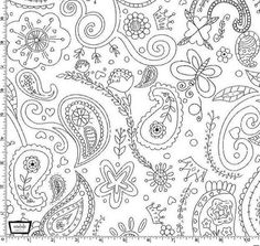 Color Me Princess Paisley from Michael Miller by StitchStashDiva