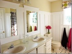 Fabulous budget bathroom revamp http://inmyownstyle.com/2011/08/diy-home-improvement-how-i-updated-a-bathroom-on-a-budget.html