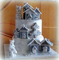 little village Christmas - Cake by passioni di zucchero
