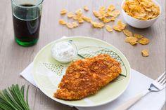 Il petto di pollo ai corn flakes, è un secondo piatto facile e veloce da realizzare ma allo stesso tempo gustoso e croccante!