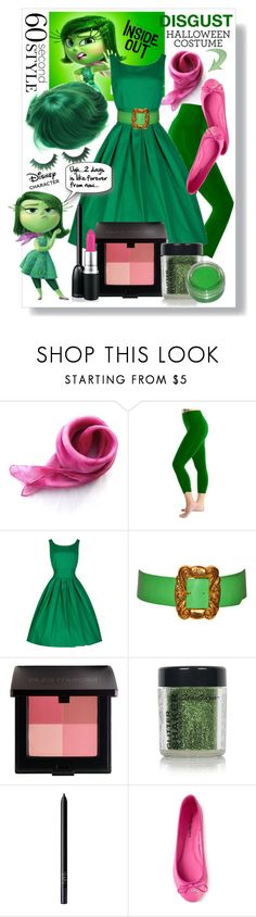 """""""60-Second Style: Disney Character Costume"""" by obriendeb812 ❤ liked on Polyvore featuring Christian Lacroix, Laura Mercier, Topshop, NARS Cosmetics, Disney, ANNA BAIGUERA, Halloween, 60secondstyle, disneycharactercostume and disgustcostume"""
