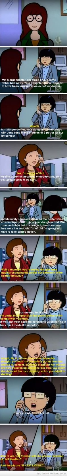 Daria Is My Spirit Mother