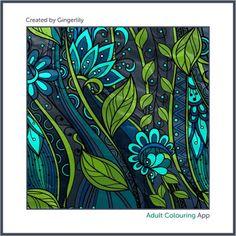 #adultcoloring #adultcoloringbook #adultcoloringbookapp #flowers #flowerart #flowercoloring