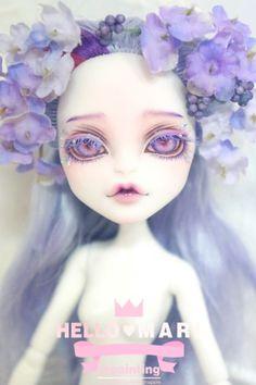 #OOAK #MonsterHigh #DollRepaint #HelloMariRepaint SEARA 님의 몬스터하이 트와일라를 리페했숴여…