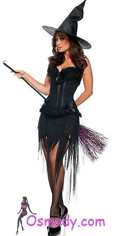 You know why witches don't wear panties So they can get a better grip on the broom stick. Halloween Fancy Dress, Creative Halloween Costumes, Halloween Outfits, Women Halloween, Halloween 2018, Vampire Costumes, Witch Costumes, Beautiful Witch, Fantasias Halloween