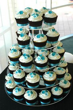 Easy Recipes and DIY Bridal Shower Cupcake Ideas For Weddings
