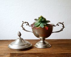 Victorian style Antique sugar bowl  Shabby by millyscollection, $35.00