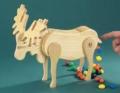 wooden candy dispenser - Google Search