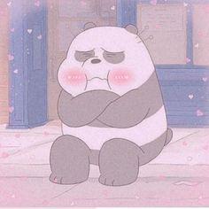 Cute Panda Wallpaper, Bear Wallpaper, Cute Wallpaper Backgrounds, Cute Cartoon Wallpapers, Ice Bear We Bare Bears, We Bear, We Bare Bears Wallpapers, Cute Love Memes, Cartoon Profile Pictures