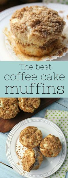 the best coffee cake muffins