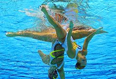 Synchronized Swimming is Artistic Gymnastics in the Water