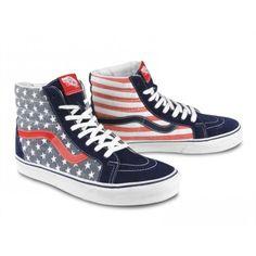 88c97a7efa981f Vans Sk-8 Hi Reissue Van Doren Stars   Stripes USA