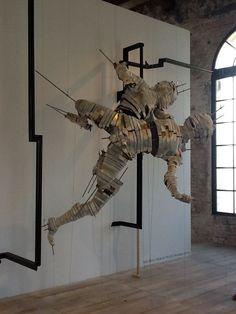 Bienal de Artes de Veneza. Artista: Wim Botha, Pavilhão da África do Sul. Foto por Lais Castro.