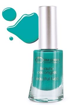 Vernis à Ongles n°53 Bleu Vert Flash Caraibes