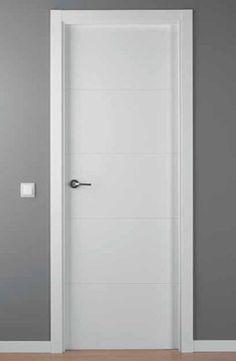 Puerta Lacada Blanca LAC-9004-G | Puertas Innova S.L.U