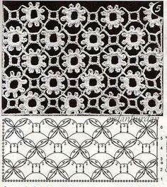 Captivating Crochet a Bodycon Dress Top Ideas. Dazzling Crochet a Bodycon Dress Top Ideas. Crochet Stitches Chart, Crochet Motifs, Crochet Diagram, Thread Crochet, Filet Crochet, Irish Crochet, Crochet Doilies, Crochet Flowers, Crochet Lace
