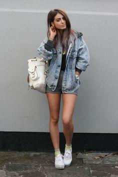 Eu Não tenho Roupa - Primeiro Blog de Moda Curitiba: Jaqueta Jeans Oversized Boyfriend