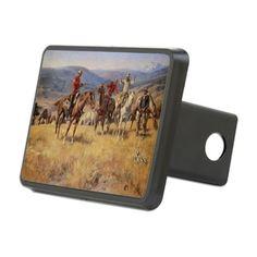 Vintage Cowboys Hitch Cover on CafePress.com