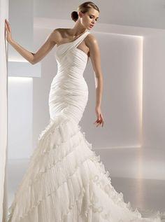 Vestido de novia flamenca