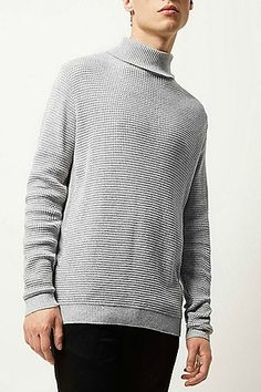 Support Movember this year by buying one of our exclusive jumpers. Light grey textured roll neck jumper £30.00 - 30% of all purchases will go towards the Movember cause #RIMenswear #JustArrived