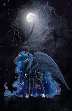 My little pony Princess Luna Arte My Little Pony, Dessin My Little Pony, My Little Pony Princess, Mlp My Little Pony, My Little Pony Friendship, Princesa Celestia, Celestia And Luna, Princess Luna, Princesas Disney Dark