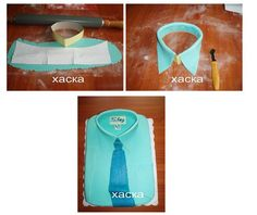 Long sleeves polo with tie