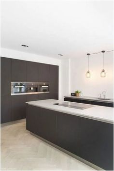 There is a lot of people today, tend to have modern kitchen design ideas for their new house. However, there is a lot of things that you need to know before creating modern kitchen design. Kitchen Buffet, Kitchen Shelves, Home Decor Kitchen, Kitchen Furniture, Kitchen Cabinets, Kitchen Flooring, Furniture Stores, Cupboards, Kitchen Backsplash