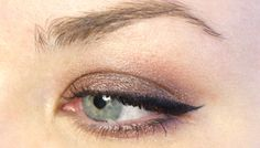 #EOTD - Warm Brown with Benefit They're Real! Push Up Liner