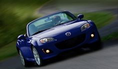 2012 Mazda Miata...and here I thought they didn't make them anymore!