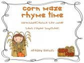 $Literacy Centers For Fall:Harvest Themed Mini Packet  product from Primary-Treasure-Chest on TeachersNotebook.com