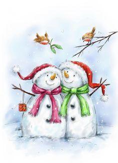Christmas Arts And Crafts, Christmas Rock, Christmas Signs Wood, Christmas Pictures, Christmas Snowman, Christmas Time, Vintage Christmas, Merry Christmas, Christmas Ornaments