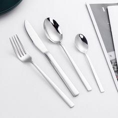 """OneClod Home❤️ Coming Soon Set posate 24 pezzi Seguiteci e scoprite i colori della bellissima collezione di posate """"Leonardo"""" by OneClod: presto in arrivo nel nostro store Presto, Tableware, Dinnerware, Dishes"""