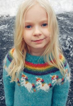 Unicorn sweater / lopapeysa pattern, sizes 8 and 10 years, available on Ravelry. Source by SunnyReykjavik Sweater Unicorn Knitting Pattern, Kids Knitting Patterns, Jumper Knitting Pattern, Afghan Crochet Patterns, Knitting For Kids, Baby Knitting, Crochet Girls, Crochet For Kids, Knit Crochet