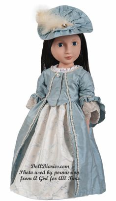 A Girl For All Time -  Lydia (My favorite of the AGFAT dolls so far)