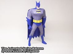 The Animated Series Batman papercraft
