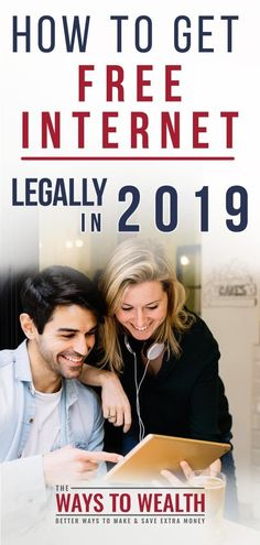 How to Get Free Internet Legally in 2020 Home Internet Options, Low Cost Internet, Internet Tv, Ways To Save Money, Money Tips, Money Saving Tips, Saving Ideas, Managing Your Money, Frugal Living Tips