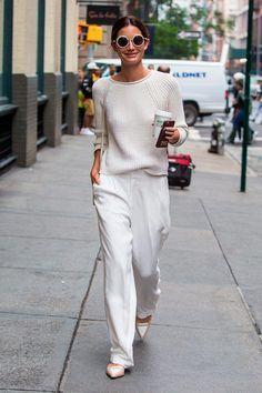 El look de Lily Aldridge. Chica chica boom boom! ©️️ Gtresonline / Cordon                                                                                                                                                                                 Más
