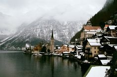 Hallstatt, Austria. I have a friend who loves Hallstatt and says it's an amazing place to visit