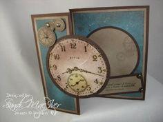 Sense of time stamp set - masculine card