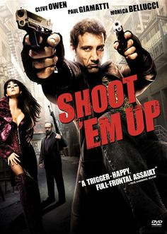 Shoot 'Em Up:  the greatest collection of awesome yet completely improbable shootout scenes!