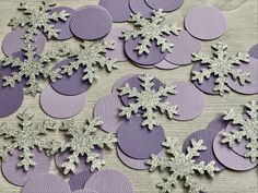 50 Purple Snowflake Confetti, Winter Onederland Party, Baby Its Cold Outside Baby Shower, Winter Birthday, Onederland Birthday Decoratio from Rings and Rattles Baby Shower Purple, Baby Shower Niño, Baby Shower Winter, Girl Shower, Purple Baby, First Birthday Winter, Girl First Birthday, Baby Birthday, Winter Wonderland Party