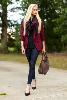 Pretty fall outfits with blazer inspiration (52)
