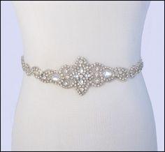 Sparkly Belt for Wedding Dress