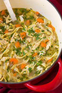 Chicken Noodle Soup Really nice recipes. Every hour. Show me  Mein Blog: Alles rund um Genuss & Geschmack  Kochen Backen Braten Vorspeisen Mains & Desserts!