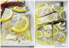 Paleta Smaku: Tołpyga zapiekana z pikantnymi grzankami i winną cebulką, podana na jarzynach