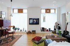 Naifandtastic: Casas pequeñas: Una casa de 39 metros cuadrados, ventanales